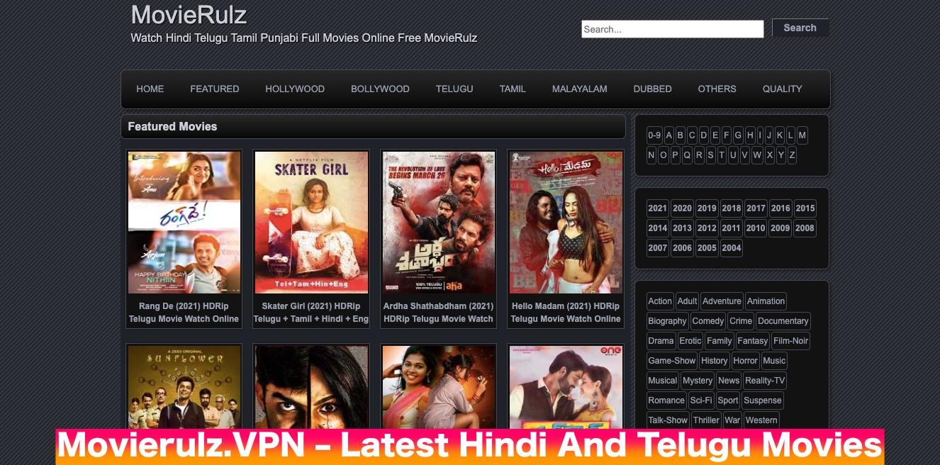 Movierulz.VPN – Watch Latest Hindi And Telugu Movies From Movierulz