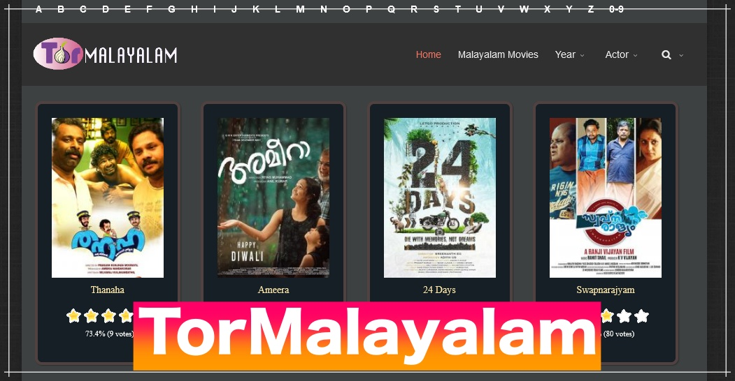 TorMalayalam 2021 – HD New movies For Free Online Website