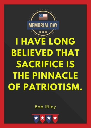 memorial day quotes military