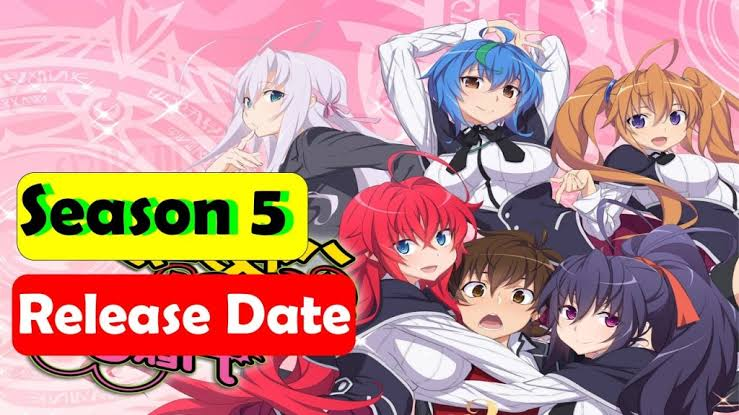 High School DxD Season 5 Confirmed!: Release Date, Leaks 2021