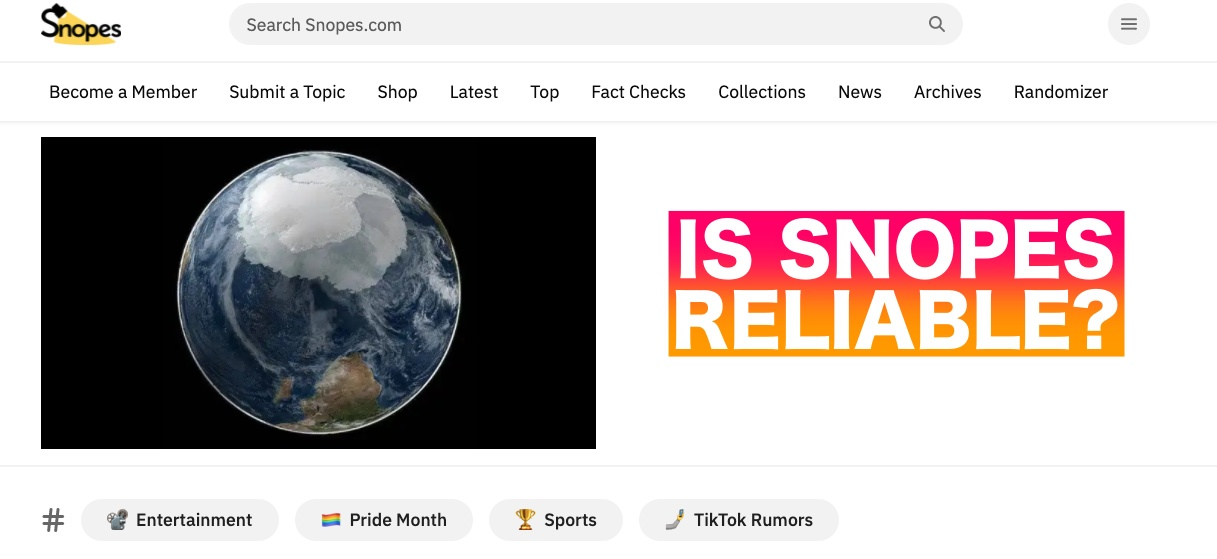 Is Snopes Reliable