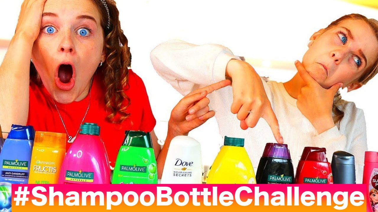 This Shampoo Bottle Challenge is Trending on Twitter