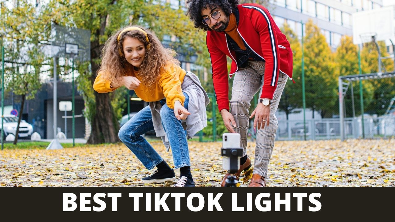 TikTok lights are long strips of colored LED lights. They are often remote controlled and can change colors, like the strip that is usually on top of a teenager's bedroom walls.