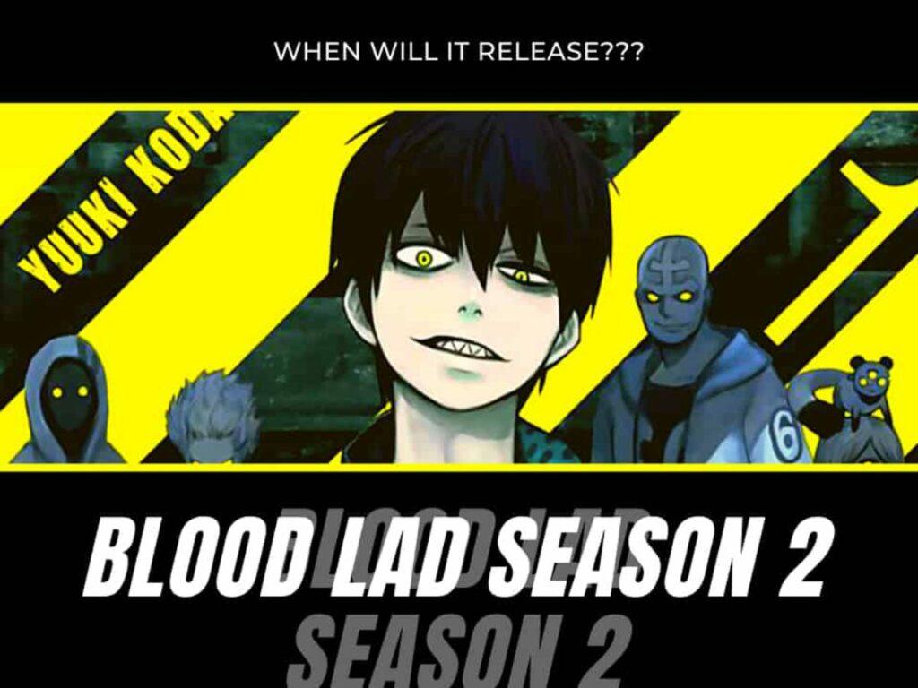 Blood Lad Season 2
