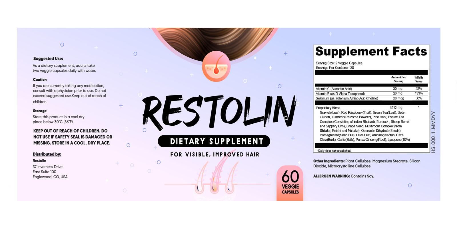 Restolin Supplement Dosage