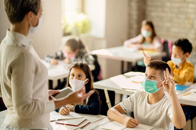 School Mask, Vaccine Mandates Supported In US: AP-NORC Poll
