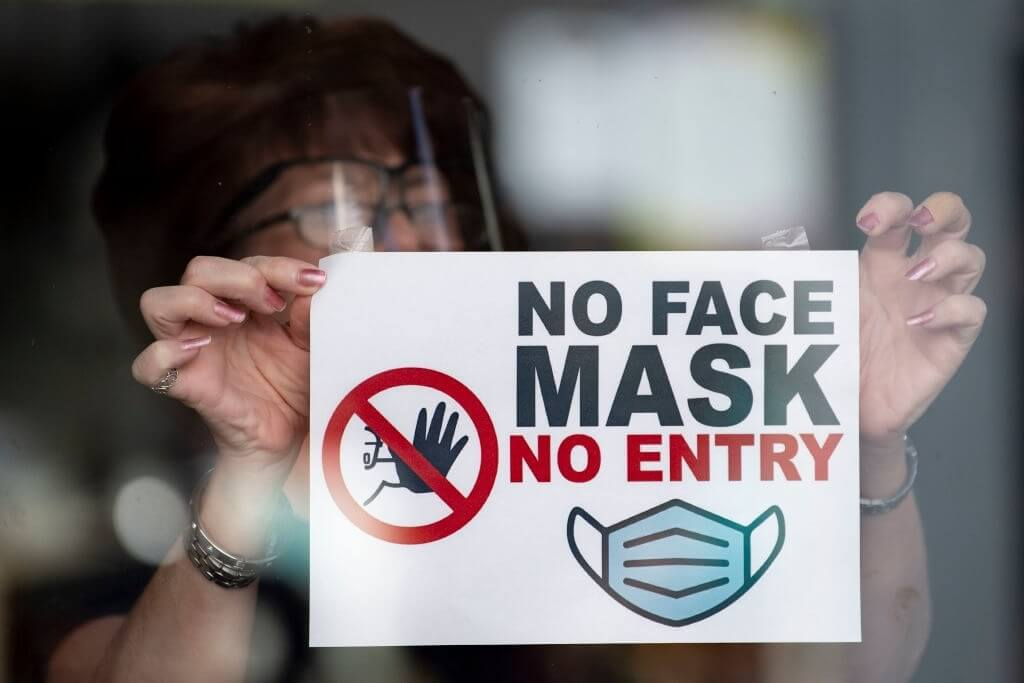 There Are Covid-19 Mask Requirements In Force In These Jurisdictions