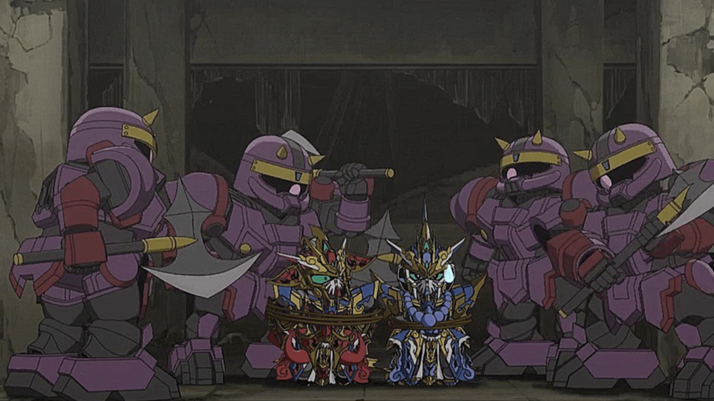 What thrills you in Gundam World Heroes Episode 20?