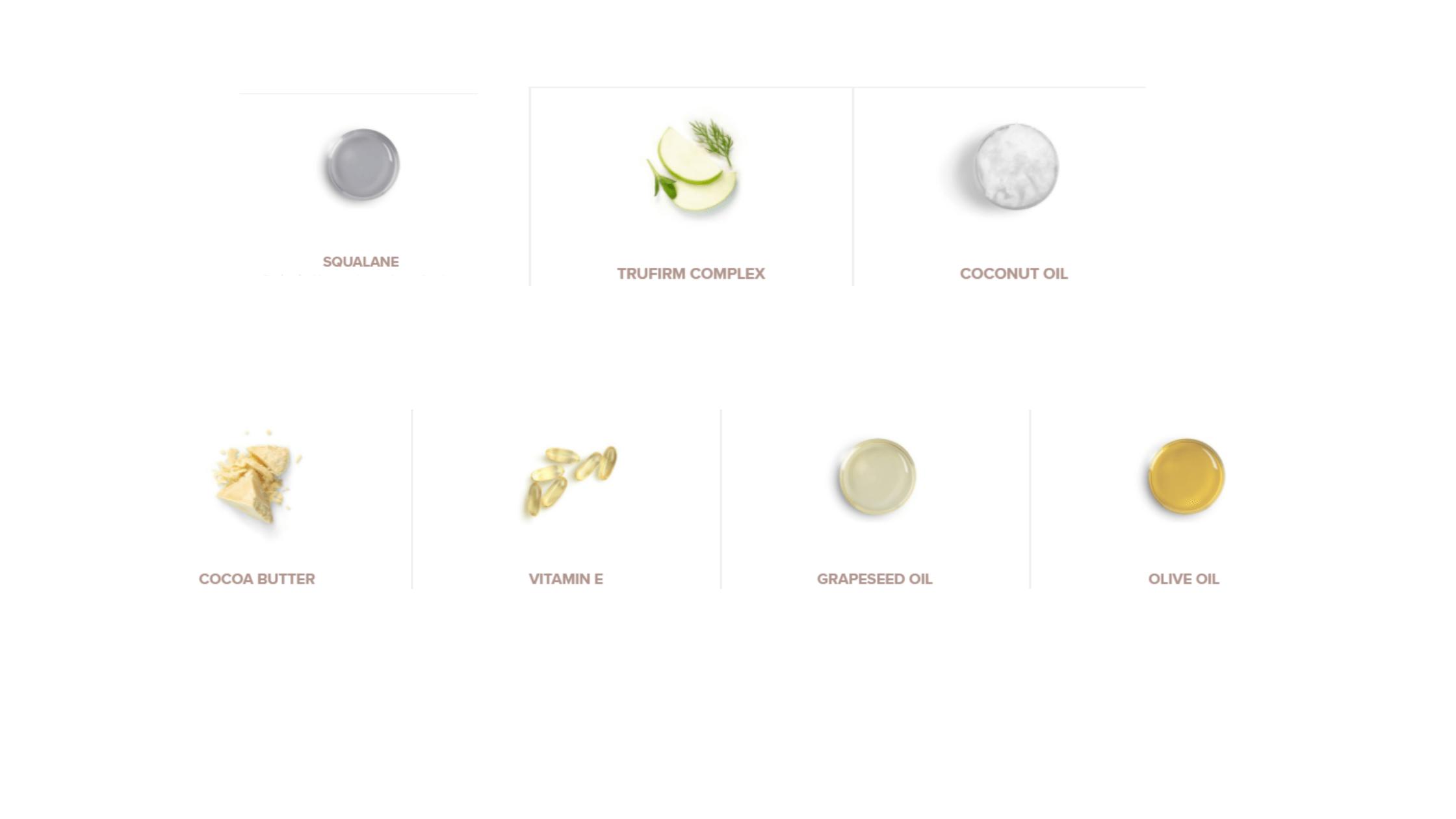 Crepe Erase Ingredients
