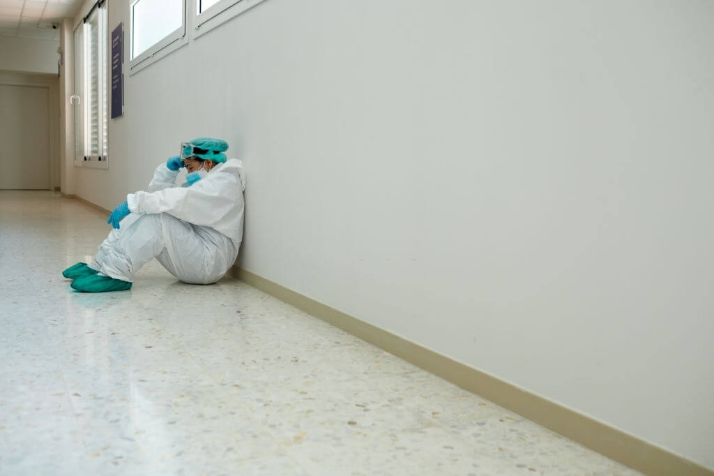 Frontline Health Professionals Are Already Tired By COVID