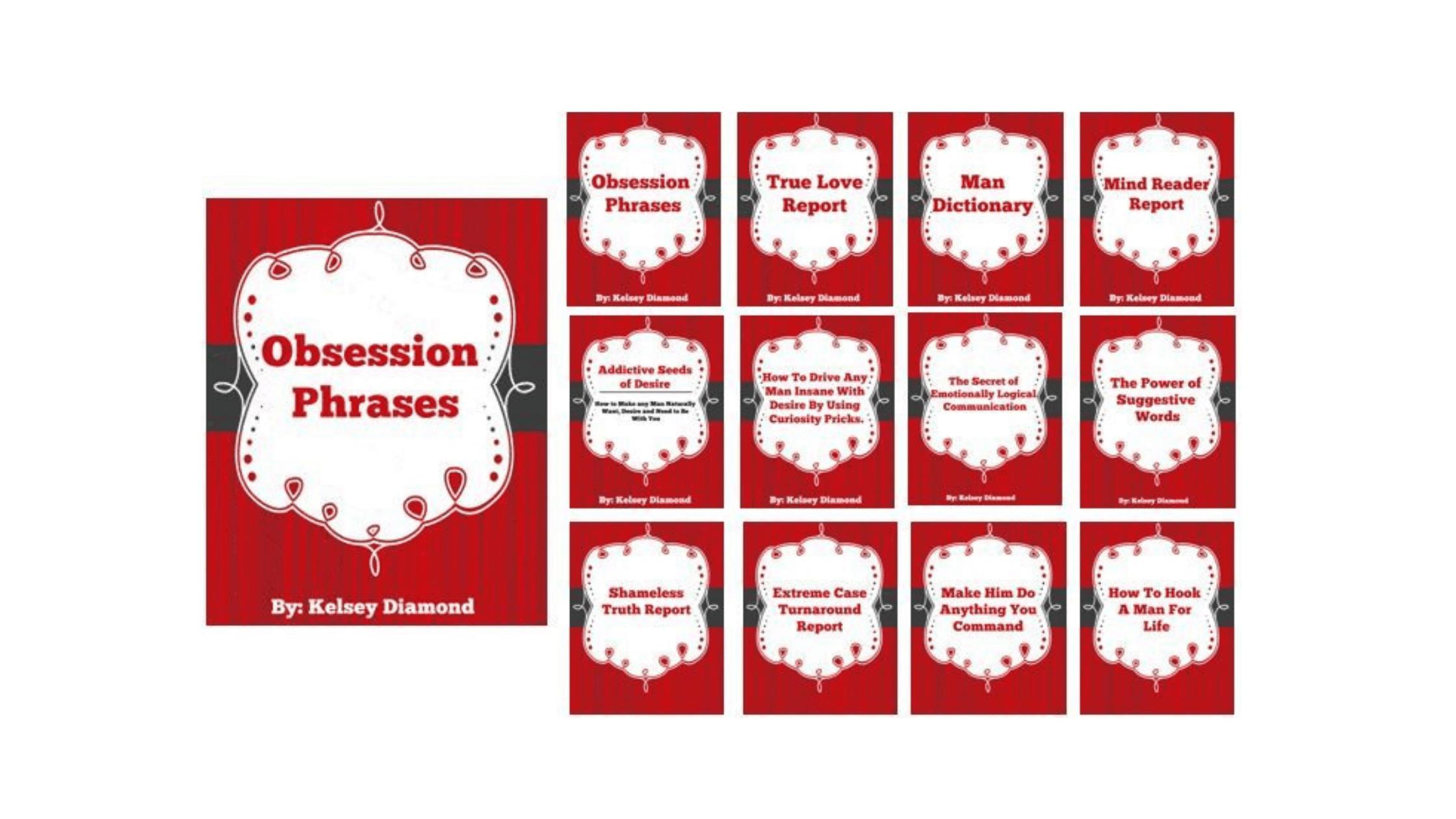 Obsession Phrases e-Book steps