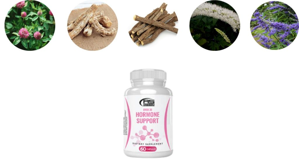 Over 30 Hormone Solution Ingredients