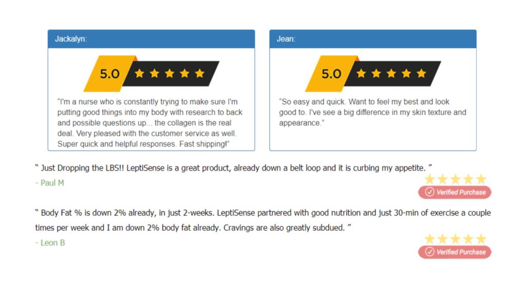 Jaylab Pro Collagen Complex Customer  Reviews