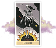 Lucy's Tarot Card Reading Includes Death
