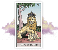 Lucy's Tarot Card Reading Includes King of Coins