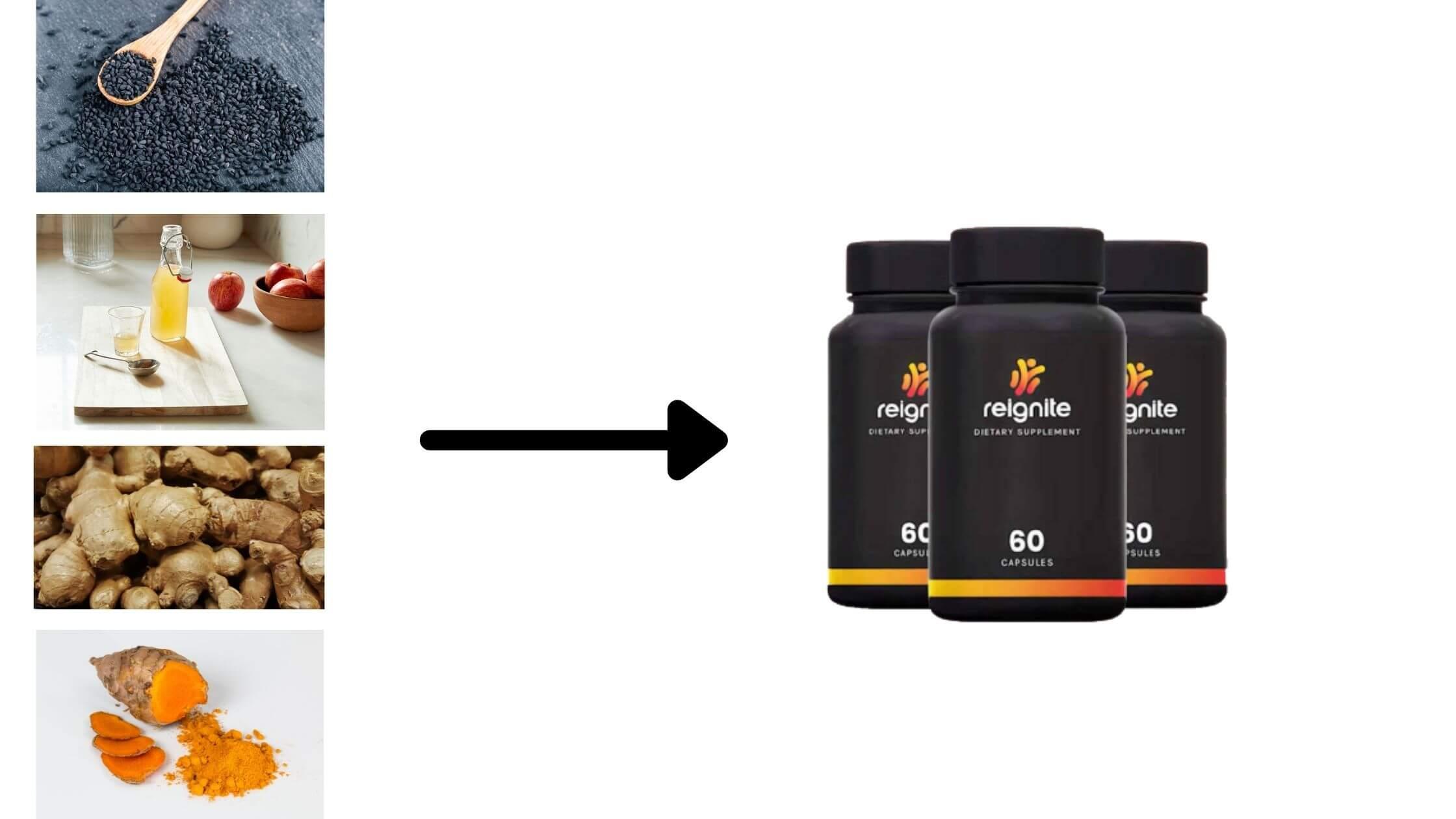ReIgnite Supplement Ingredients